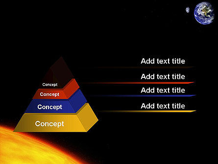 Earth and Sun PowerPoint Template, Slide 4, 12245, Technology and Science — PoweredTemplate.com