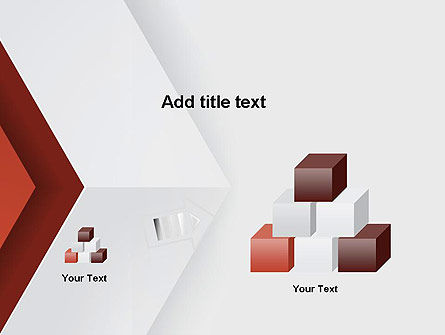 Arrow Style PowerPoint Template Slide 13