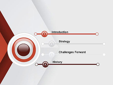 Arrow Style PowerPoint Template Slide 3