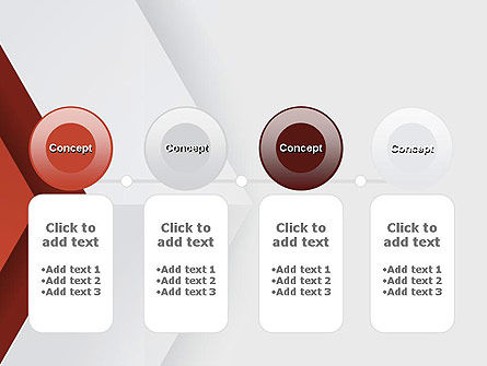 Arrow Style PowerPoint Template Slide 5