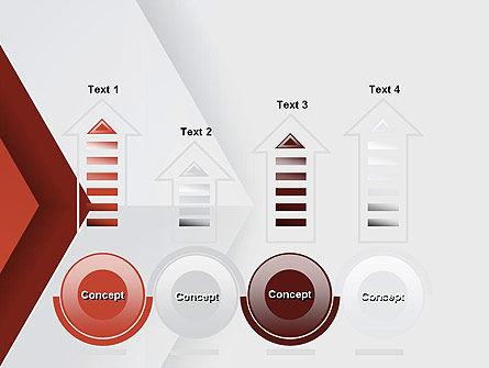 Arrow Style PowerPoint Template Slide 7