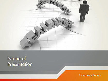 Teamwork Organization PowerPoint Template