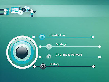 Tuning a System PowerPoint Template, Slide 3, 12250, Technology and Science — PoweredTemplate.com