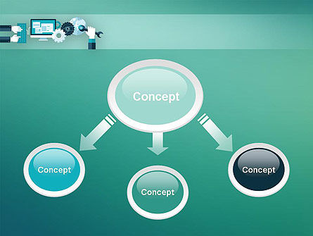 Tuning a System PowerPoint Template, Slide 4, 12250, Technology and Science — PoweredTemplate.com