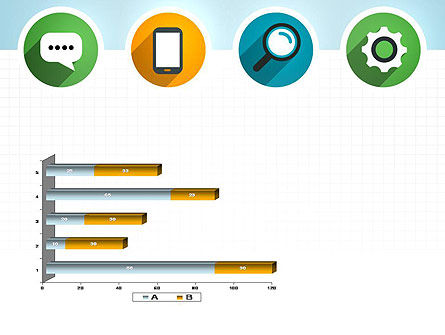 Presentation in Flat Design PowerPoint Template Slide 11