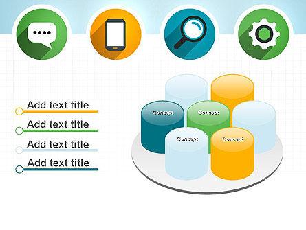 Presentation in Flat Design PowerPoint Template Slide 12