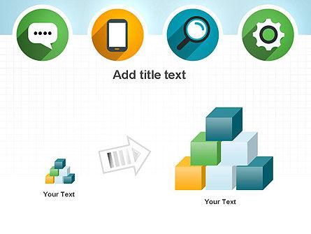 Presentation in Flat Design PowerPoint Template Slide 13