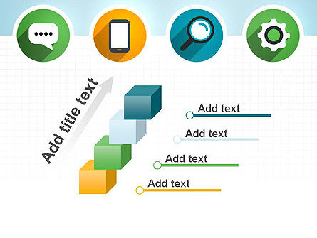 Presentation in Flat Design PowerPoint Template Slide 14