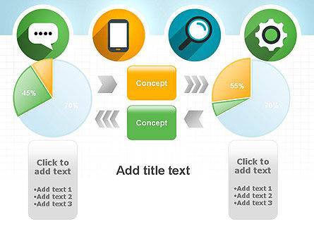 Presentation in Flat Design PowerPoint Template Slide 16