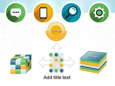 Presentation in Flat Design PowerPoint Template Slide 19