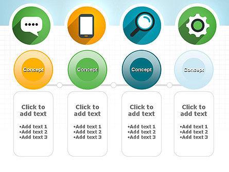 Presentation in Flat Design PowerPoint Template Slide 5