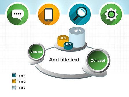 Presentation in Flat Design PowerPoint Template Slide 6