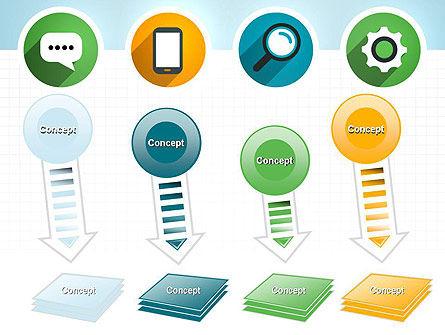 Presentation in Flat Design PowerPoint Template Slide 8