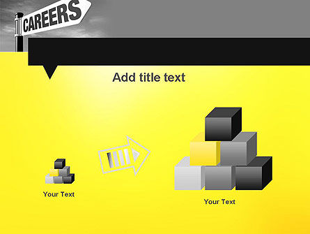 Careers Sign PowerPoint Template Slide 13