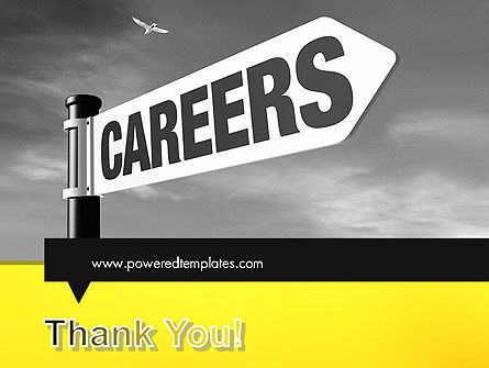 Careers Sign PowerPoint Template Slide 20