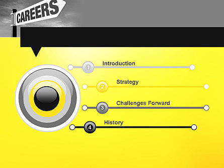 Careers Sign PowerPoint Template, Slide 3, 12253, Careers/Industry — PoweredTemplate.com
