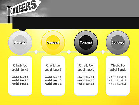 Careers Sign PowerPoint Template Slide 5