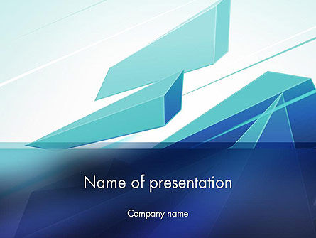 Abstract/Textures: Broken Shapes PowerPoint Template #12254