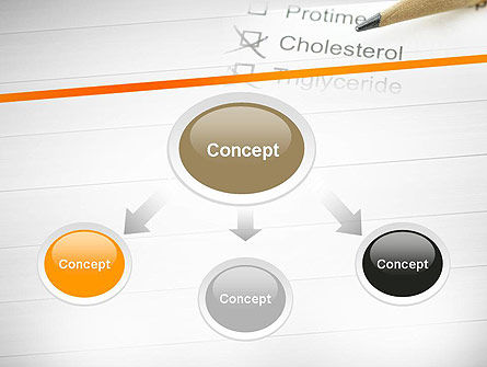 High Cholesterol PowerPoint Template, Slide 4, 12255, Medical — PoweredTemplate.com