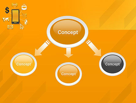 Mobile Solutions PowerPoint Template, Slide 4, 12259, Technology and Science — PoweredTemplate.com