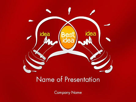 Best Idea Creation PowerPoint Template