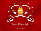 Business Concepts: Best Idea Creation PowerPoint Template #12260