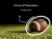 Sports: Super Bowl Feest PowerPoint Template #12262