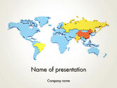 Financial/Accounting: BRIC Countries PowerPoint Template #12264