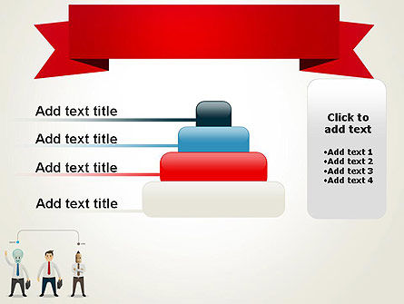 Banner and Characters PowerPoint Template Slide 8