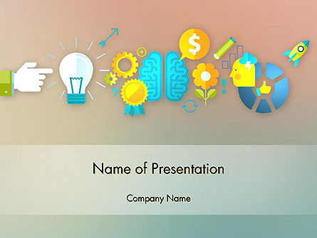 Business Concepts: From Idea to Project Launch PowerPoint Template #12266