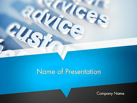 Professional Services PowerPoint Template, 12268, Careers/Industry — PoweredTemplate.com