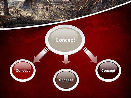 Effects of Forest Fire PowerPoint Template, Slide 4, 12271, Nature & Environment — PoweredTemplate.com