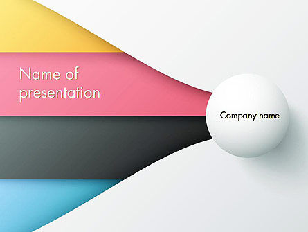 Business: Clean and Modern Company Presentation PowerPoint Template #12272