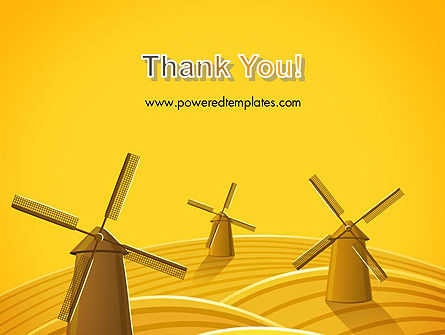 Windmills PowerPoint Template Slide 20