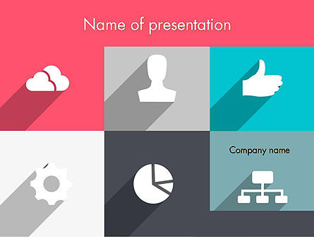 Modern Company Presentation PowerPoint Template, 12274, Business — PoweredTemplate.com