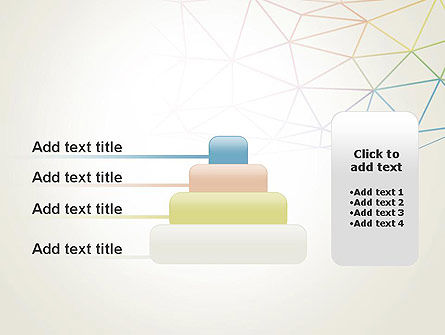 Abstract Triangle Mesh PowerPoint Template Slide 8