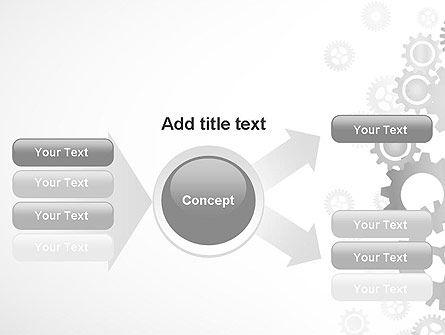 Gears Background PowerPoint Template Slide 14