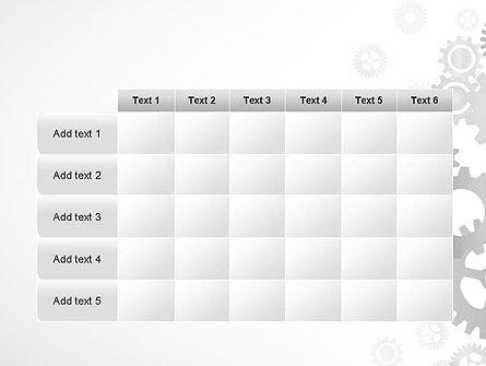 Gears Background PowerPoint Template Slide 15