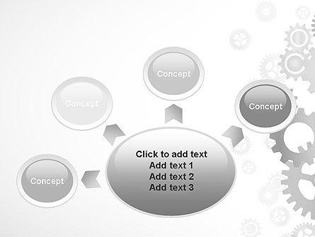 Gears Background PowerPoint Template Slide 7