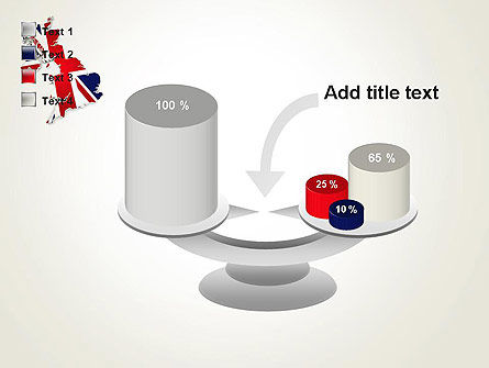 Great Britain Flag Map PowerPoint Template Slide 10