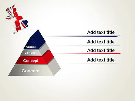 Great Britain Flag Map PowerPoint Template Slide 12