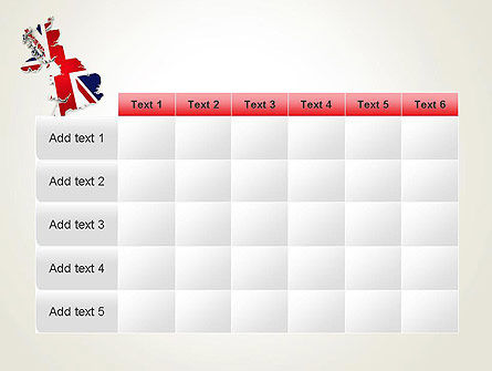 Great Britain Flag Map PowerPoint Template Slide 15