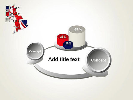 Great Britain Flag Map PowerPoint Template Slide 16