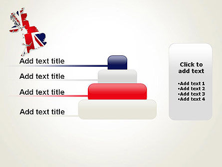 Great Britain Flag Map PowerPoint Template Slide 8