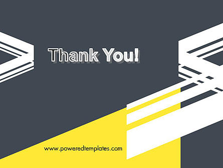 Broken Lines Theme PowerPoint Template Slide 20