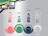 Stock Exchange Theme in Flat Design PowerPoint Template#7