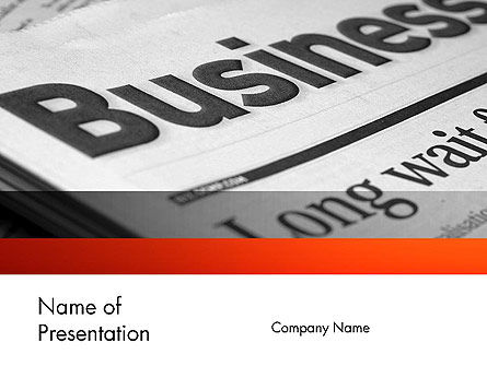 Careers/Industry: Business Articles PowerPoint Template #12286