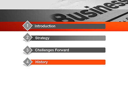 Business Articles PowerPoint Template, Slide 3, 12286, Careers/Industry — PoweredTemplate.com