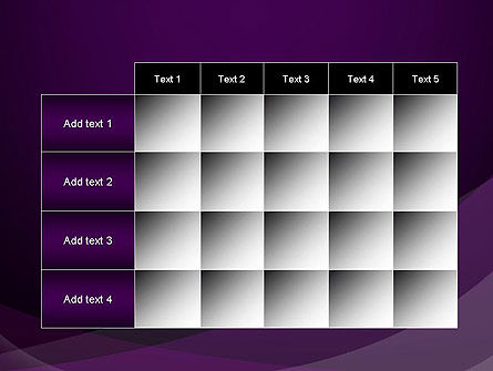 Abstract Violet PowerPoint Template Slide 15