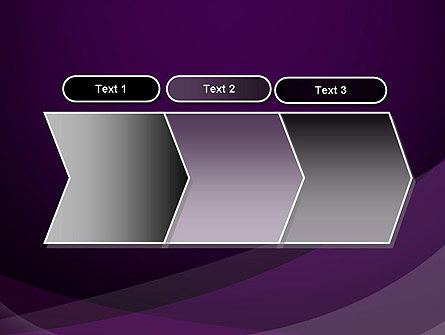 Abstract Violet PowerPoint Template Slide 16